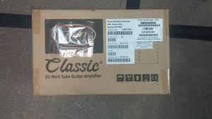 Peavey Classic 115e Cabinet Peavey Classic 20 Tube 20 Watt Guitar Amp Ebay