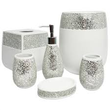 Pink And Black Bathroom Accessories by Remarkable Pink And Grey Bathroom Sets Best Interior Decor Home