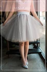 how to make a tulle skirt diy tulle skirt ruffled