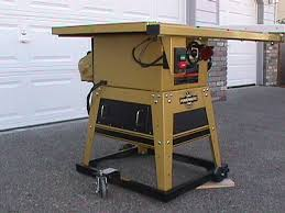 powermatic 10 inch table saw contractors saw dust collection woodworking talk woodworkers forum