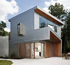 Country House Design Love The Steely Look Of The Aluminium Cladding Contrasted By The