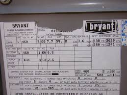 bryant air conditioner serial number u2013 best air 2017