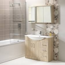 eden 120 mirrored cabinet 3 doors gloss white