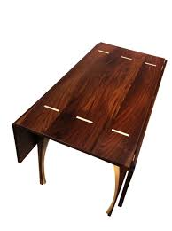 48 inch rectangular dining table buy hand made drop leaf dining table solid walnut 48 inches