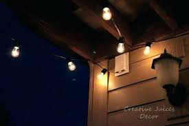 Decorative Patio Lights String Lightsing For Outdoors Amazing Led Patio Lights And
