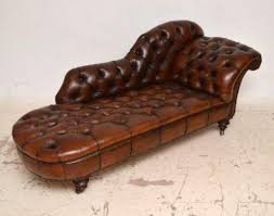 Leather Chaise Lounge Wonderful Traditional Leather Chaise Longue Chesterfields Direct