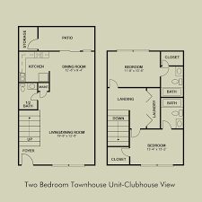 two bedroom townhouse floor plan greystone at country club two bedroom townhouse clubview court