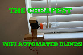 the cheapest tech 15 diy internet of things automated blinds