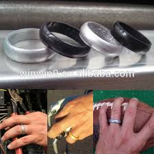 rubber wedding ring custom embossed silicone rubber wedding rings kids ring rubber