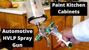 how to paint kitchen cabinets with spray gun how to paint kitchen cabinets with an automotive hvlp spray gun