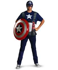 Captain Halloween Costume Captain America Movie Costume Supehero Costumes