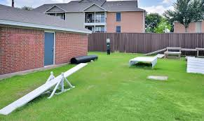 Backyard Agility Course Photos Fountains At Steeplechase Apartments In Plano