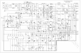 atx switching power supply wiring diagram components