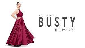 prom dresses for big bust prom dresses for a type