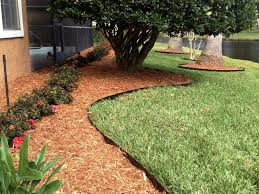 edging your garden lawn growing into your flower beds removal