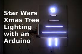 paint led christmas lights diy making a christmas tree w an arduino star wars lighting
