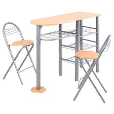 Set Table by Amazon Com Giantex Pub Dining Set Counter Height 3 Piece Table