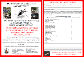 Va Home Inspection Checklist by Request A Free Mosquito Inspection Or File A Standing Water