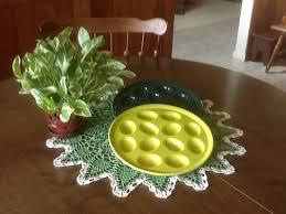 fiestaware egg plate my egg plate