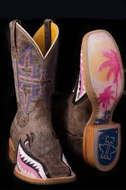womens pink cowboy boots sale tin haul s eater shark boots tin haul boots