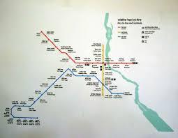 Red Line Metro Map Delhi Metro