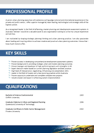 Event Planning Resume Example by City Planner Resume Sample Contegri Com