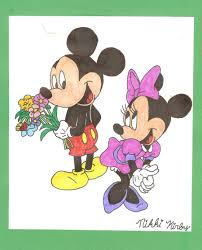 cute mickey minnie wallpapers wallpapersafari