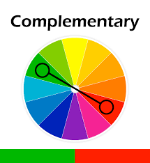 complementary color colours chia te