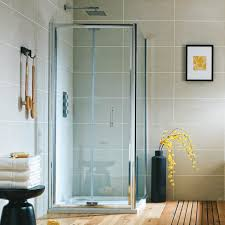 Easy Clean Shower Doors Harbour I6 Easy Clean 6mm Bi Fold Shower Door Optional Side