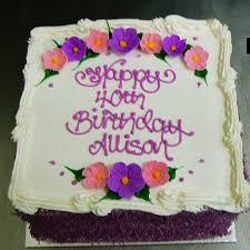 40th birthdays country cakes