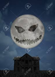 halloween full moon halloween background with black cat bats und
