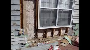 house framing cost major termite damage minimal repair cost youtube