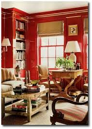 the archives red in walls english country decor and interiors