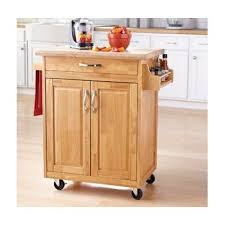 wood top kitchen island mainstays kitchen island cart this stylish