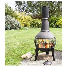 Blue Rooster Chiminea Review Deeco Tuscan Glo Steel Wood Burning Chiminea U0026 Reviews Wayfair