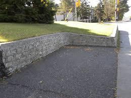 cinder block retaining wall drainage cinder block retaining wall