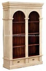 Double Bookcase Bookcase Furniture Indonesia U2013 Furniture Indonesia Manufacture