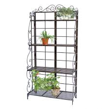 Cheap Bakers Rack Plant Stand S L1000 Outdoor Plant Shelves Racks Remarkable