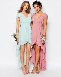 tfnc tfnc wedding high low chiffon dress