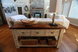 Reclaimed Wood Buffet Table by Reclaimed Wood Buffet Whitewash Acton Island Gerald Reinink 8 Blog