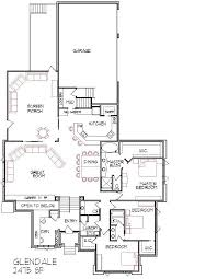 narrow house floor plans modern floor plan narrow lot adhome