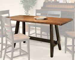 counter height kitchen island table intercon counter height dining table winchester in wn ta 3678g bhn tab