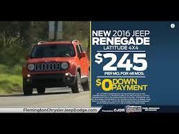 dodge ram 0 financing 2016 jeep renegade 245 mo 0 0 financing flemington