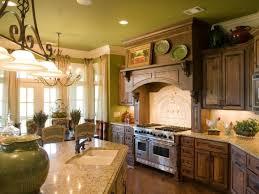 Dark And Light Kitchen Cabinets Interior Kitchen Decorating Ideas Using Rustic Solid Dark Brown