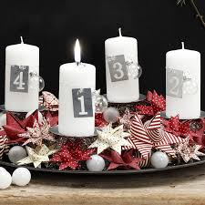 Advent Decorations Creative Ideas For Christmas Candle Decorations Diy Christmas