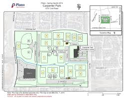 Plano Map Field Layouts