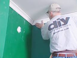 Wall Molding How To Install Crown Molding How Tos Diy