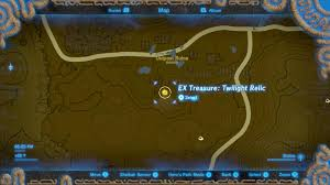 Twilight Princess Map Zelda Breath Of The Wild Guide How To Find Midna U0027s Helmet In The