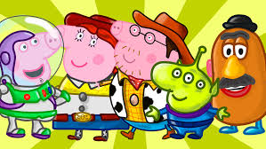 coloring pages peppa pig toy story coloring book learn colors