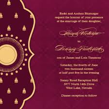 wedding invitations indian wedding ideas
